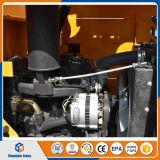 Cargador de la rueda de las partes frontales del equipo de granja de Weifang mini