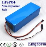 батарея фосфата LiFePO4 утюга лития 12V40ah для резервной силы