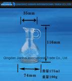 Leere Glasflasche für Öl und Gewürz