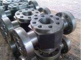 Soupapes en acier modifiées pour le pétrole et le gaz industriels avec api Q1 diplôméees