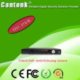 O ONVIF CCTV 8CH 1080P Gravador Digital de Segurança até 8 TB (XVRT Tribrid DVR820)