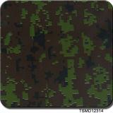 Le camouflage de mètre de Tsautop Tsmd11513 Width1 modèle le transfert de l'eau de films