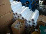 Film d'extension manuel de LLDPE empaquetant sur le roulis de l'usine