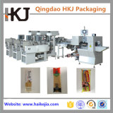 Machine de conditionnement automatique de pâtes longues avec trois peseurs
