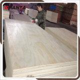 madera contrachapada del pino de 18m m para la construcción