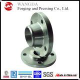 Bride de plaque de l'acier du carbone de norme ANSI A105