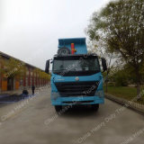 12車輪のSinotruk HOWO A7 8X4のダンプかダンプカートラック
