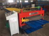 Roulis de feuille de toiture de zinc formant formant la machine
