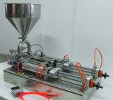 Máquina de rellenar de la salsa neumática compacta de la Dual-Pista sin electricidad