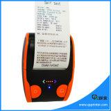 Android Handheld áspero da impressora térmica de 58mm Bluetooth com USB