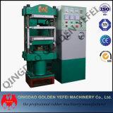 Máquina de goma del neumático de la prensa hidráulica del vulcanizador del suelo