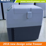 Réfrigérateur portatif campant du congélateur 12V de Freezercar de véhicule de congélateur de compresseur de réfrigérateur portatif portatif de véhicule solaire