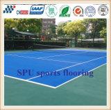 Lo Spu Cn-S01 mette in mostra la corte per la corte corrente tennis/della pista/campo da pallacanestro