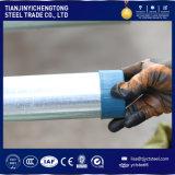 El tubo del soldado enrollado en el ejército galvanizó el tubo de acero y los tubos usados invernadero