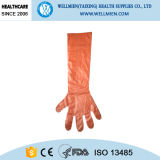 Langes Sleeve LDPE Glove für Slaughtering und Food Processing