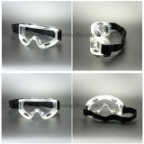 Lunettes de sûreté transparentes de bâti de PVC (SG142)