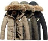 毛皮が付いている人の高品質の方法冬のジャケット