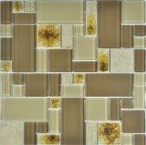 El vidrio y cerámica de la grieta de hielo mosaico mezclado de piscina mosaico