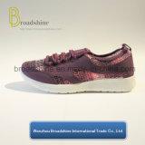 De nieuwe Toevallige Schoenen van de Vrouwen van het Ontwerp met In te ademen Bovenleer (ES191715)