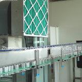 Máquina de embotellado líquida automática con la línea de etiquetado que capsula
