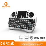Mini I8+ Wireleess teclado ruso caliente de Rii con el Touchpad