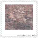 床(ボルドーの赤)のための中国の花こう岩の建築材料のタイル