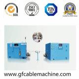 Type vertical machine de vrillage arrière de câble de toronnage de bobine de double