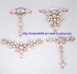De Decoratie van de Gesp van de Schoen van het bergkristal voor Vrouwen