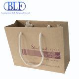 Bolsas de papel directas de Brown Kraft de la nueva fábrica de Blf que hacen compras