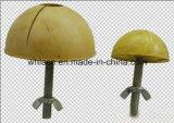 미리 틀에 넣어 만들어진 닻 (, 검정 파랗고, 노란)를 위해 이전 건축재료 고무 오목면