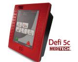 Meditech DEFI5c Un DAE professionnel avec de nombreuses invites vocales et visuelles pour l'opérateur