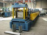Aufbauender Stahlkanal, der Wand-Stiftc Z Purlin rollen lässt, Maschine bildend