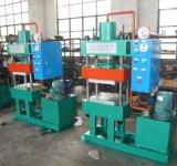Máquina de goma de vulcanización de la placa de cuatro columnas
