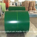 El precio bajo del origen de Hebei prepintó PPGI galvanizado para el material para techos del metal