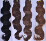 Бразильские человеческие волосы 100% выдвижений человеческих волос объемной волны волос девственницы