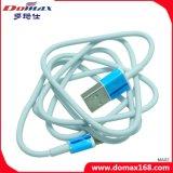 Weißer Farben-Blitz zum USB-Kabel-Adapter-Daten USB-Kabel