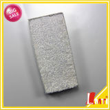 Polvere bianca d'argento ecologica di scintillio di serie di vendite calde