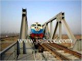мост прогона ферменной конструкции стали 64m железнодорожный
