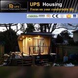 Casa modular plegable viva modular del kit del estilo de madera prefabricado del envío