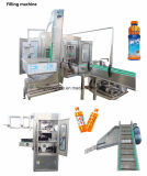 살균제를 가진 애완 동물 병 주스 3in1 펄프 과일 주스 충전물 기계