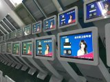 22インチのタッチ画面のキオスクを立てるLCD表示の床の広告