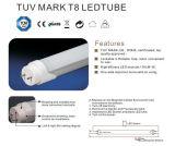 La alta calidad 100lm/W T8 LED Light 18W 120cm.