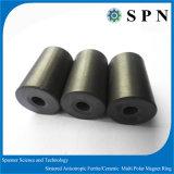 Gli anelli duri di ceramica del magnete del ferrito hanno sinterizzato anisotropo