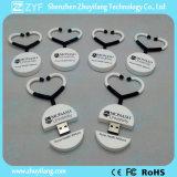 Movimentação feita sob encomenda do flash do USB do estetoscópio do PVC do presente médico (ZYF1004)