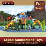 Crianças Amusement Outdoor Plastic Playground para Park (12002A)