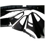 Пользовательские внутренней отделкой автомобиля из углеродного волокна