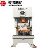 Jh21 máquina Desktop excêntrica mecânica da imprensa de perfurador da marcação de 400 toneladas