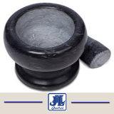 Het goedkope Zwarte Mortier en de Stamper van het Graniet voor Keuken