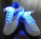 Шнурок шнурка ботинок способа проблескивая цветастый СИД OEM