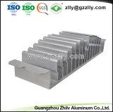 L'alta precisione anodizza il profilo di alluminio d'argento per materiale da costruzione